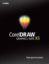 CorelDRAW Graphics Suite X5 Reviewer's Guide (BR)