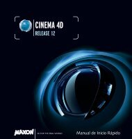 CINEMA 4D Release 13 Quickstart Manual - Maxon Computer