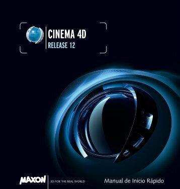 Bienvenido a CINEMA 4D R12 - Maxon