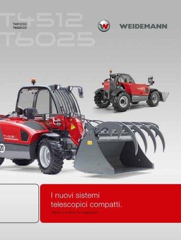 T4512 e T6025  - Weidemann GmbH