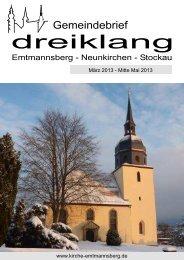 März 2013 - Evang.-Luth. Kirchengemeinden