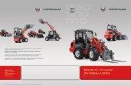 Hoftrac® 13-й серии - Weidemann GmbH