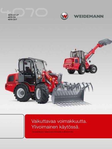 40 sarja - Weidemann GmbH