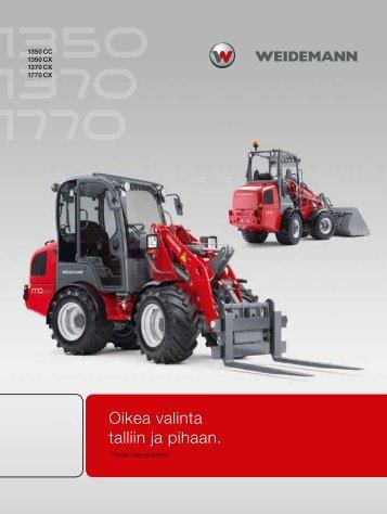Hoftrac® 13 sarja - Weidemann GmbH