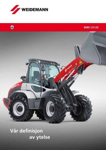 Hjullastere 8080 CX120 - Weidemann GmbH