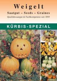 Kürbis - Spezial - Weigelt & Co. Erfurter Samenzucht KG
