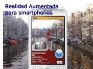 Realidad Aumentada para smartphones - LDC