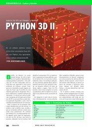 Marcha a Blender - Linux Magazine