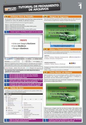 Fechamento de arquivo Bh Grafica - Bh Gráfica