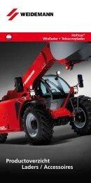 Productoverzicht Laders / Accessoires - Weidemann GmbH