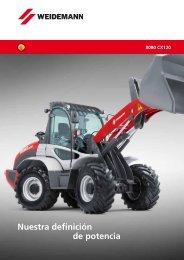 Cargadora de ruedas 8080 CX120 - Weidemann GmbH