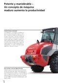 Cargadora de ruedas 8080 CX120 - Weidemann GmbH - Page 4