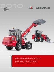 Mot framtiden med fokus på kraft och ekonomi. - Weidemann GmbH