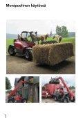 Kätevä ja käyttäjäystävällinen - Weidemann GmbH - Page 4