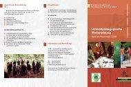 Umweltpädagogische Weiterbildung - Gesellschaft zur ...
