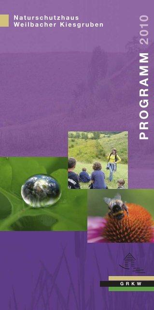 Programm 2010 - Gesellschaft zur Rekultivierung der ...