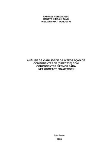 Monografia - PCS