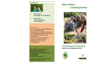 Faltblatt Juli 2011 - Gesellschaft zur Rekultivierung der ...