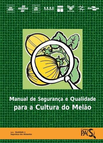 para a Cultura do Melão - Ainfo - Embrapa