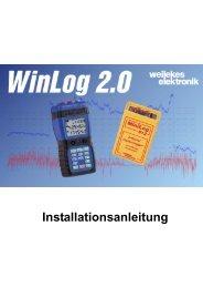 Installationsanleitung WinLog 2.0 - Weilekes.de