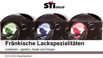 Fränkische Lackspezialitäten - WEILBURGER Graphics GmbH