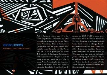 Leia aqui uma entrevista exclusiva com o ilustrador - Globo Livros
