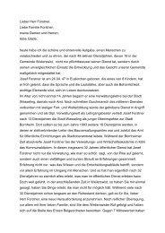 Laudatio Forstner - Gemeinde Weilerswist