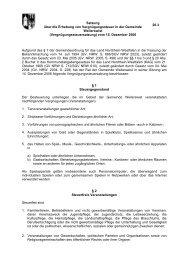 Satzung über die Erhebung von Vergnügungssteuer in der ...