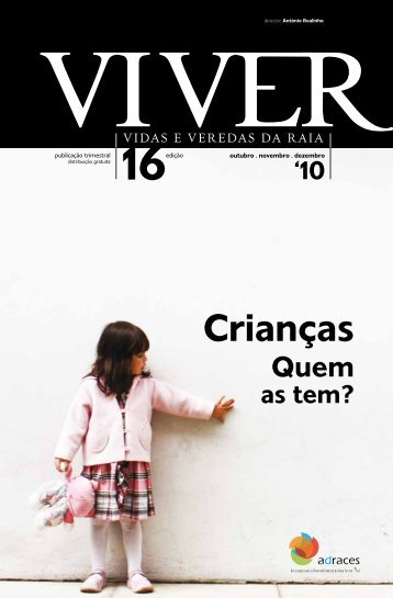 Revista Viver 16 - Crianças. Quem as tem? - Adraces