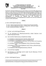 2. Änderung Satzung über die Errichtung von ...