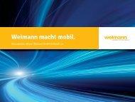 Weimann macht mobil. - Ladenbau Johann Weimann GmbH