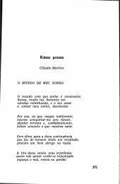 Rimas Presas Claudio Martins