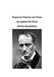 Charles Baudelaire – Le Spleen de Paris