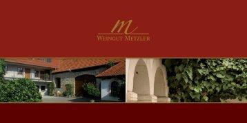 Weingut Metzler - Weingut Reinhard Metzler