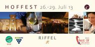 Flyer - Weingut Riffel GbR