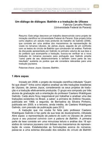 ANAIS DO X ENCONTRO NACIONAL DE ... - ICHS/UFOP