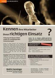 Zielführung - Impulsworkshop Messe 07 - Weiß & Senninger