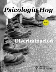 Psicología Hoy - Facultad de Psicología - Universidad Alberto Hurtado