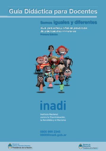 Guía Didáctica para Docentes - Inadi