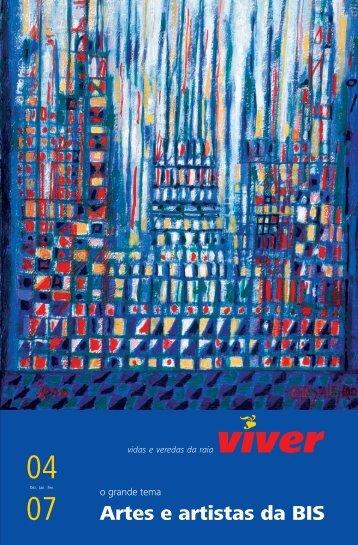 Revista Viver 4 ? Artes e artistas da BIS - Adraces