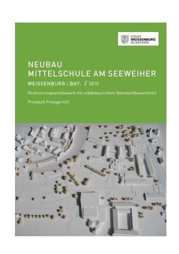 Wettbewerb Neubau Mittelschule_Protokoll - Stadt Weißenburg