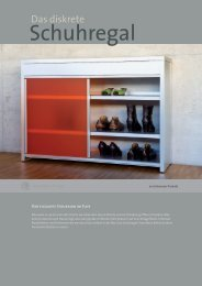 Schuhregal - Chamäleon Design AG