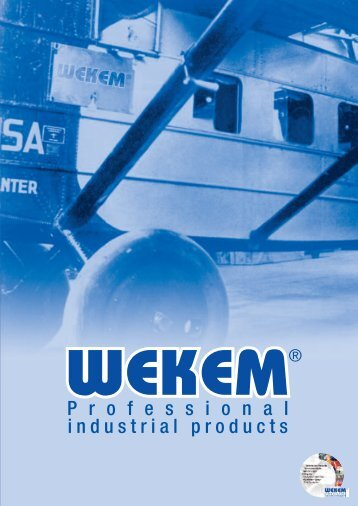 Professional industrial products - WEKEM