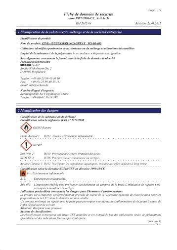 Zink-Ausbesserungs-Spray (FR) - WEKEM