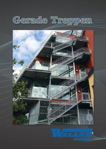 Gerade Treppen - Weland GmbH