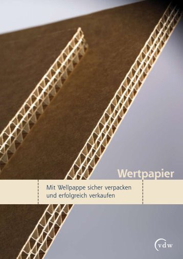 Wertpapier - Verband der Wellpappen-Industrie eV