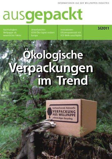 ausgepackt 3/2011 - Verband der Wellpappen-Industrie eV