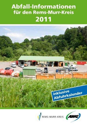 Abfall-Informationen - Stadt Welzheim