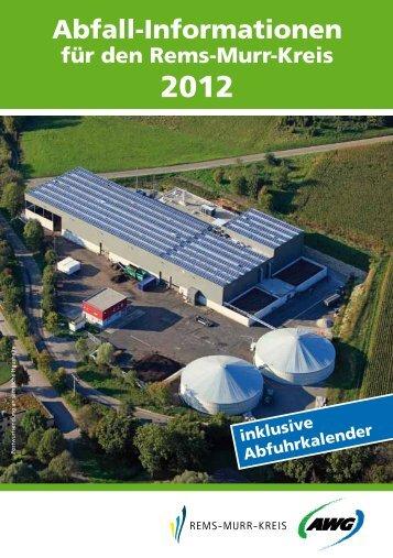 Abfall-Informationen - Gemeinde Althütte