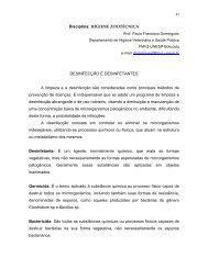 DESINFECO E DESINFETANTES - Faculdade de Medicina ...